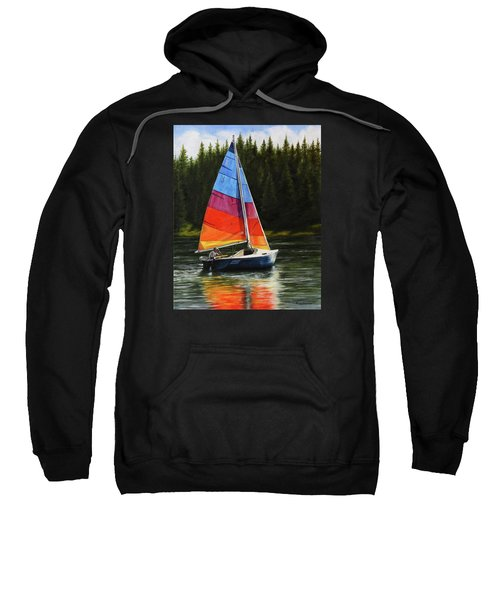Sailing On Flathead Sweatshirt