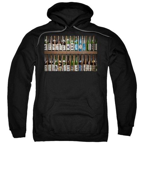 Sake Bottles Sweatshirt