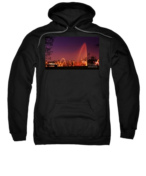 Sao Paulo - Ibirapuera Park At Dusk - Contemplation Sweatshirt