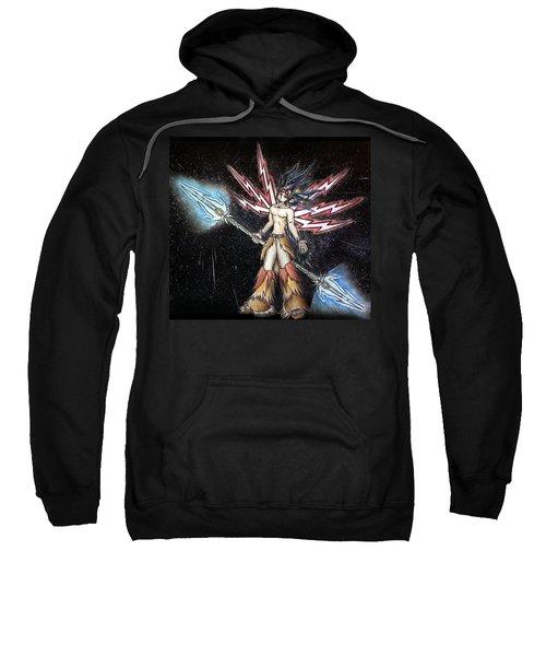 Satari God Of War And Battles Sweatshirt