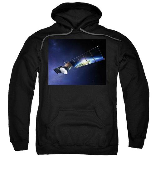 Satellite Communications With Earth Sweatshirt