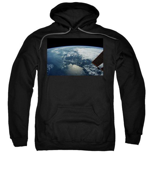 Satellite View Of Planet Earth Showing Sweatshirt