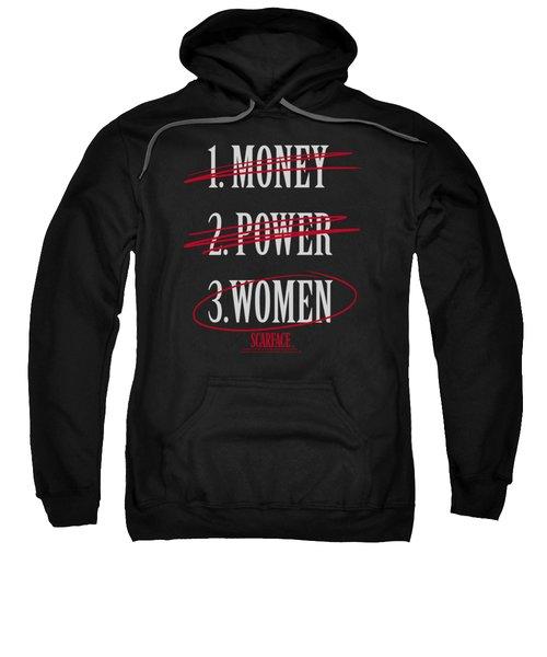 Scarface - Money Power Women Sweatshirt