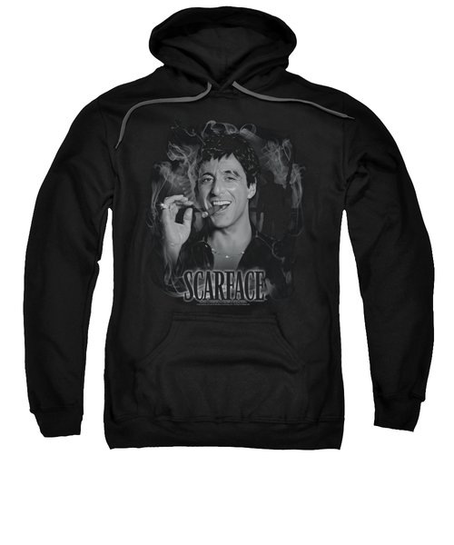 Scarface - Smokey Scar Sweatshirt by Brand A