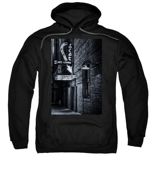 Scat Lounge In Cool Black And White Sweatshirt