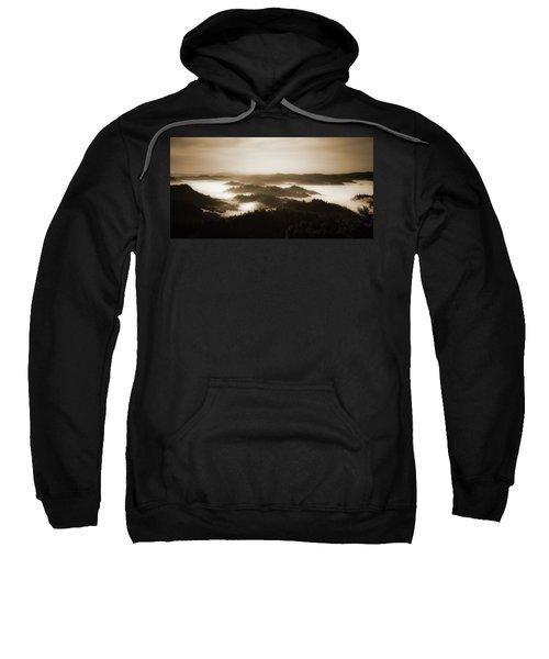 Scenery With Silhouettes Sweatshirt