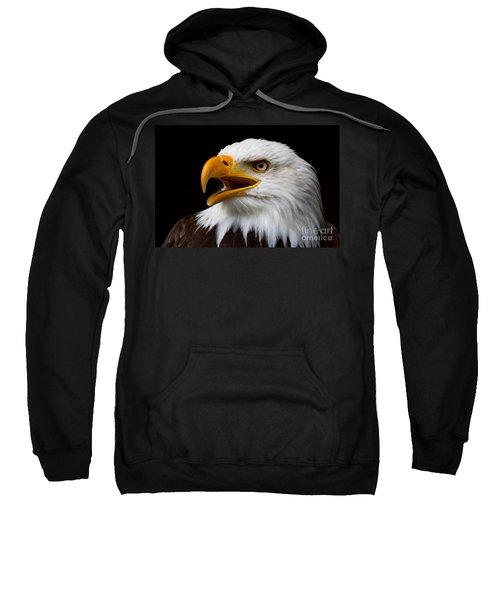 Screaming Bald Eagle Sweatshirt