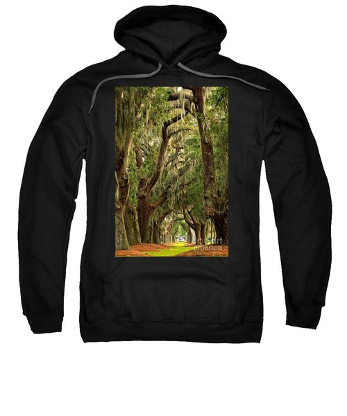 Sea Island Oaks Portrait Sweatshirt