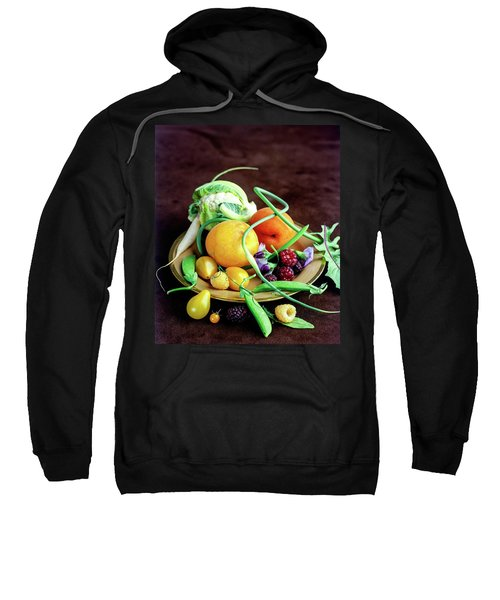 Seasonal Fruit And Vegetables Sweatshirt