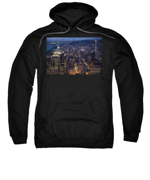 Seattle Urban Details Sweatshirt by Mike Reid