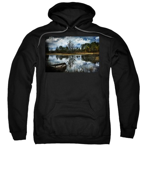 Seney And The Rowboat Sweatshirt