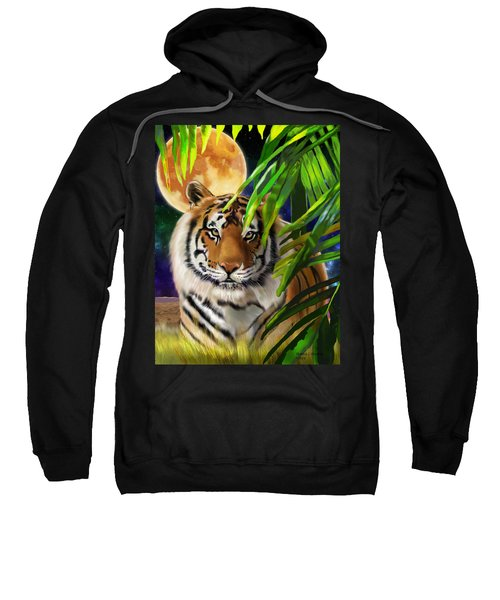 Second In The Big Cat Series - Tiger Sweatshirt
