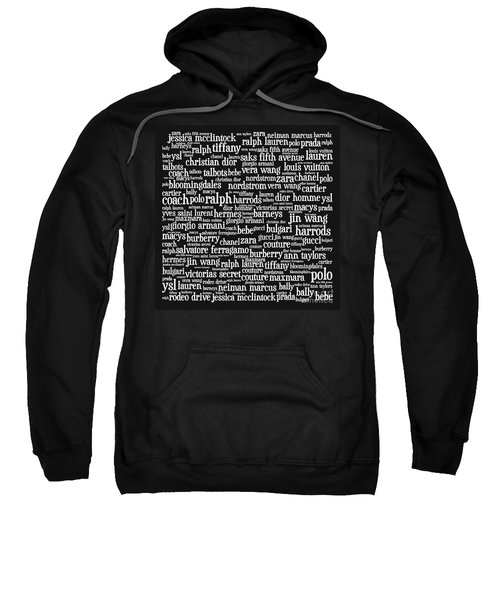Shop Until You Drop 20130622bw Sweatshirt