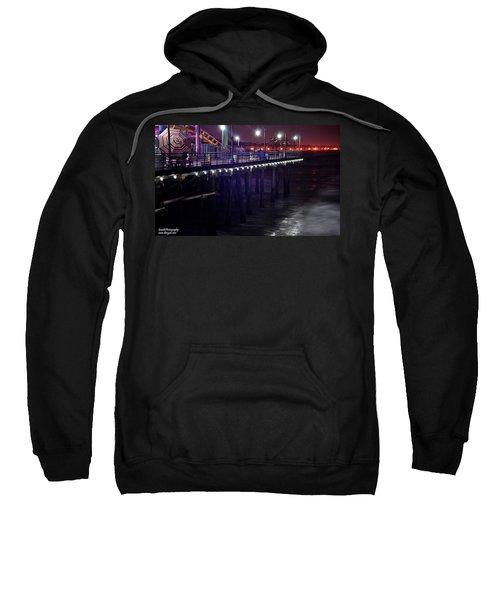 Side Of The Pier - Santa Monica Sweatshirt