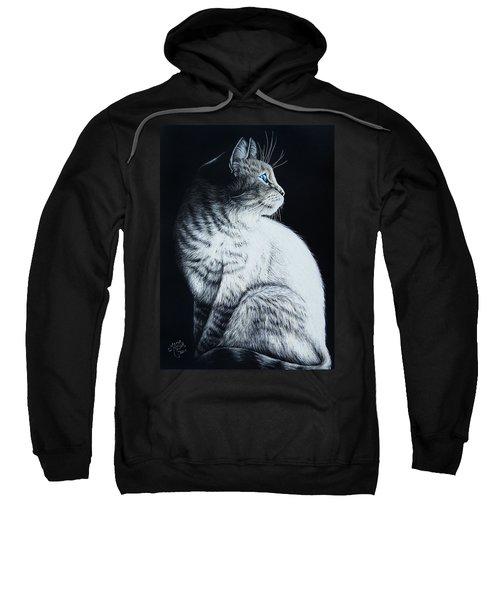 Sitting Cat Sweatshirt
