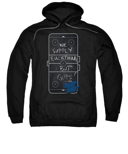 Slap Shot - Chalkboard Sweatshirt