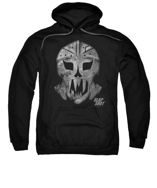Slap Shot - Goalie Mask Sweatshirt