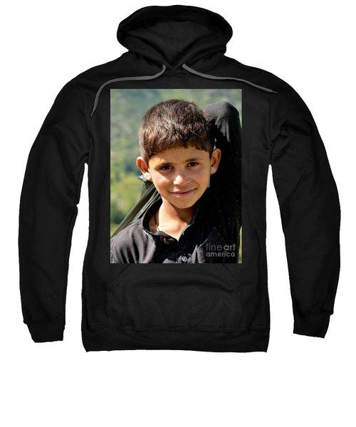 Smiling Boy In The Swat Valley - Pakistan Sweatshirt
