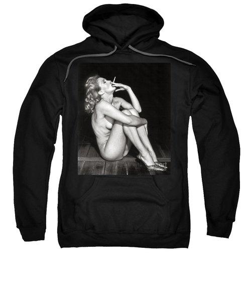 Smoking Nude  Sweatshirt