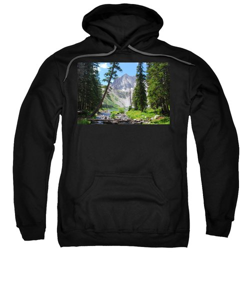 Snowmass Peak Landscape Sweatshirt