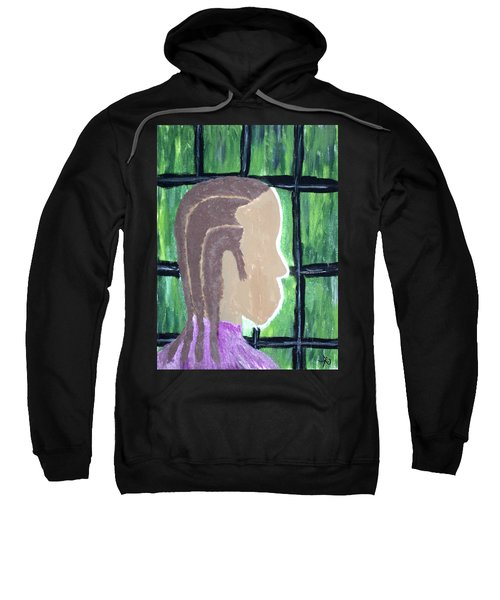 Abstract Man Art Painting  Sweatshirt