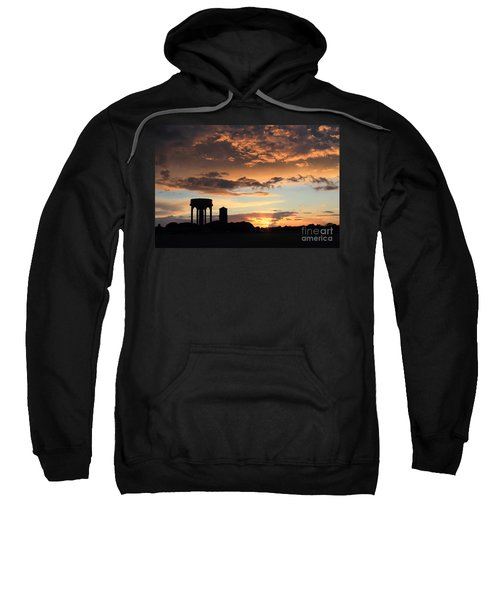Water Towers On Southwold Common Sweatshirt
