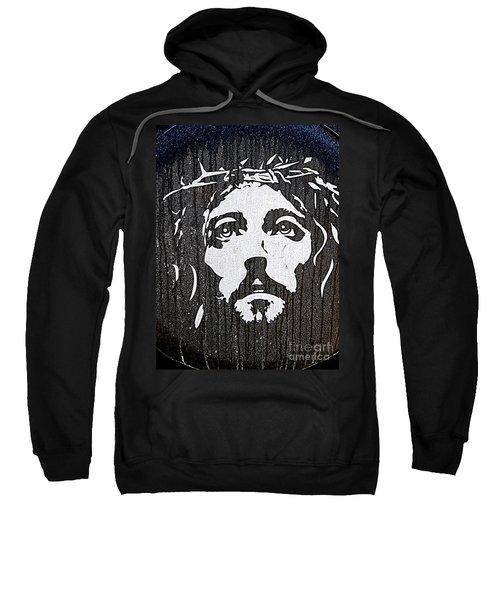 Spare Tire Jesus Sweatshirt