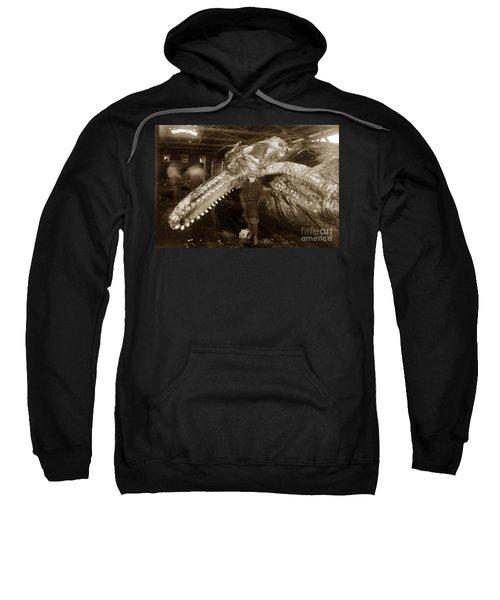 Sperm Whale Taken At Moss Landing California  On January 22 1919 Sweatshirt
