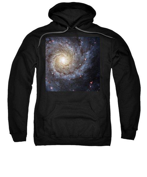 Spiral Galaxy M74 Sweatshirt