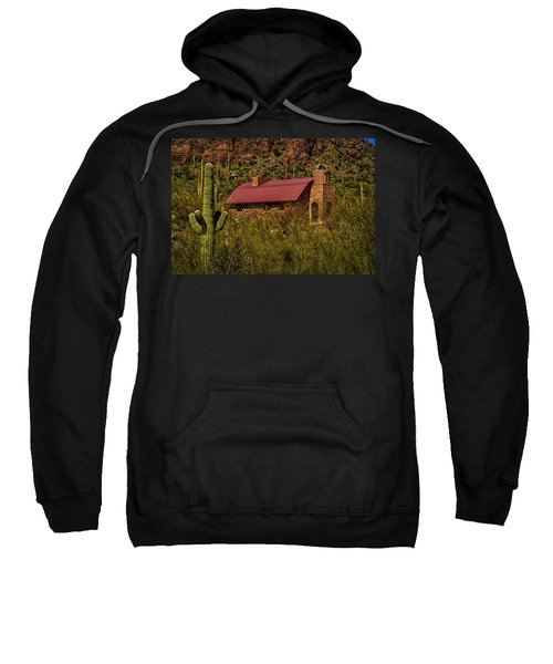Sweatshirt featuring the photograph Spiritual Oasis by Mark Myhaver
