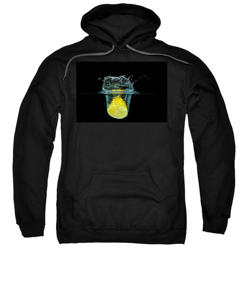 Splashing Lemon Sweatshirt