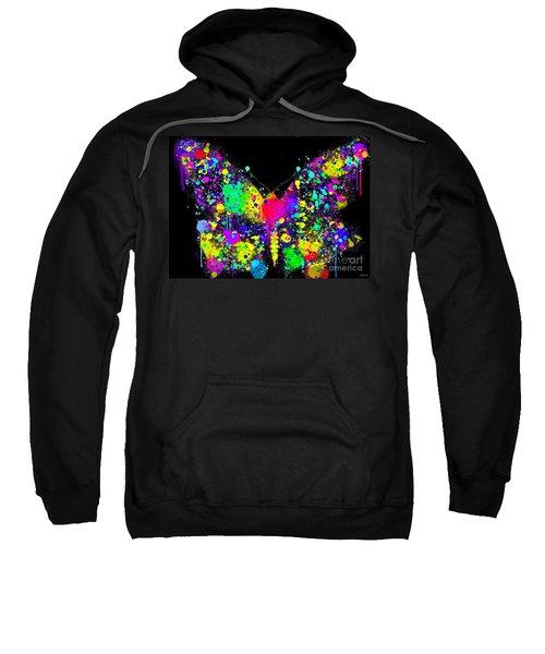 Splatter Butterfly Sweatshirt