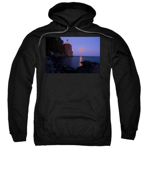 Split Rock Lighthouse - Full Moon Sweatshirt