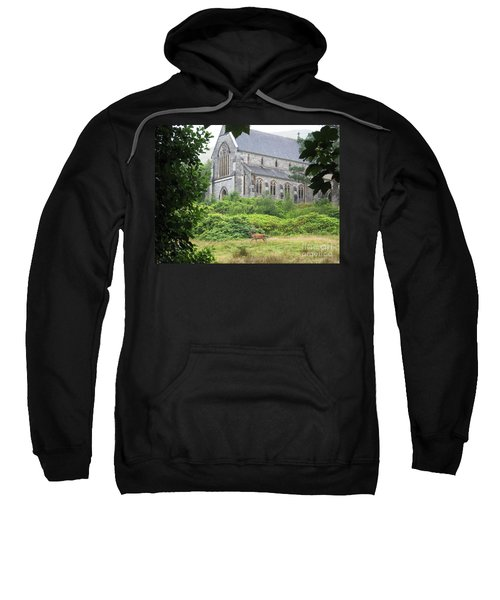 Sweatshirt featuring the photograph Spotted by Denise Railey