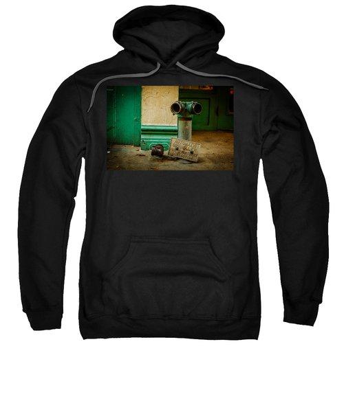 Sprinkler Green Sweatshirt