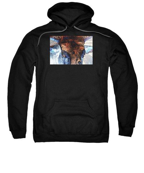 St Paul Rodeo Bull 25407 Neon Sweatshirt