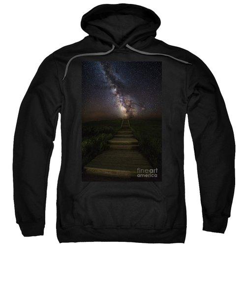 Stairway To The Galaxy Sweatshirt