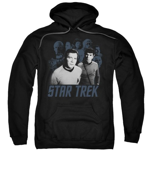 Star Trek - Kirk Spock And Company Sweatshirt