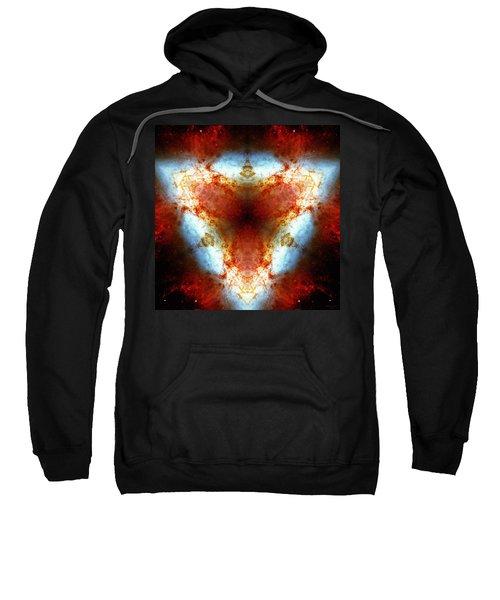 Starburst Galaxy M82 Vi Sweatshirt