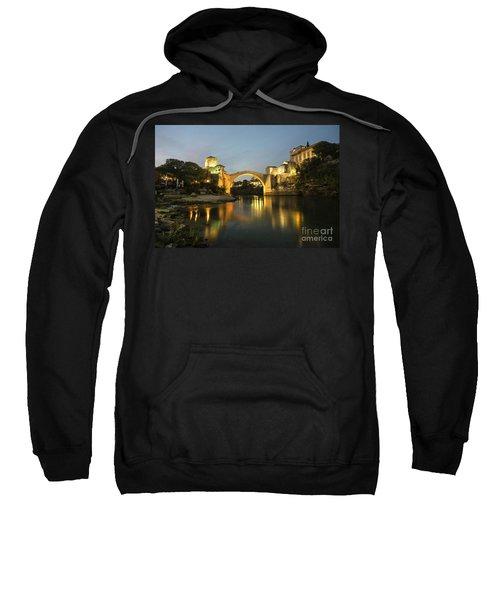 Stari Most By Night  Sweatshirt