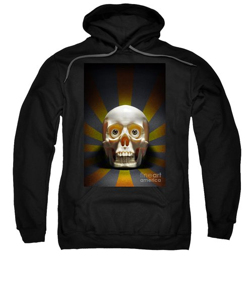 Staring Skull Sweatshirt