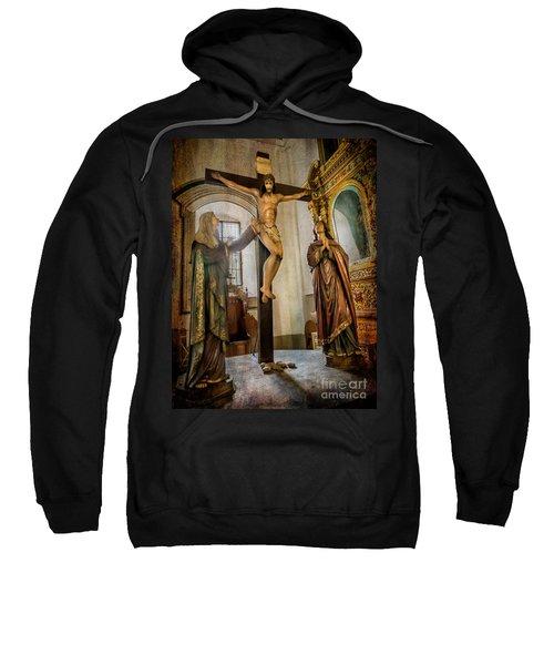Statue Of Jesus Sweatshirt