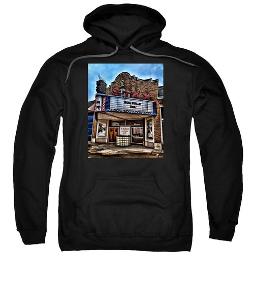 Stax Records Sweatshirt by Stephen Stookey