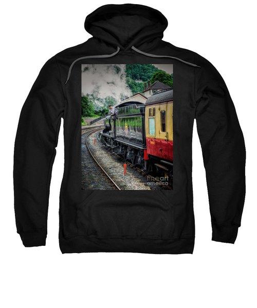 Steam Train 3802 Sweatshirt