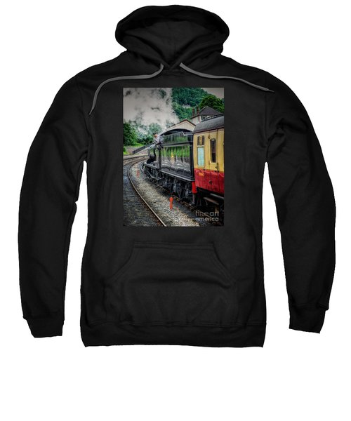 Steam Train 3802 Sweatshirt