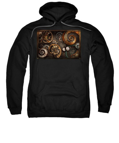 Steampunk - Abstract - Time Is Complicated Sweatshirt