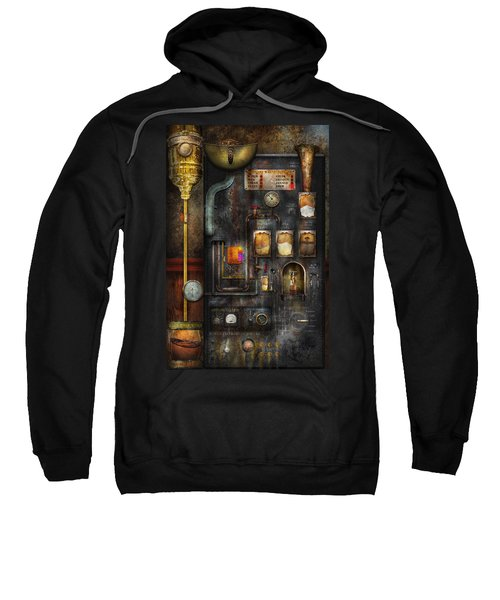 Steampunk - All That For A Cup Of Coffee Sweatshirt