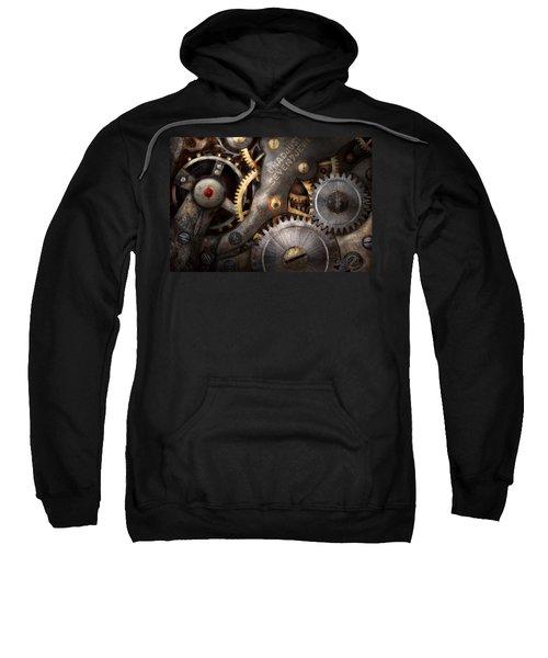 Steampunk - Gears - Horology Sweatshirt