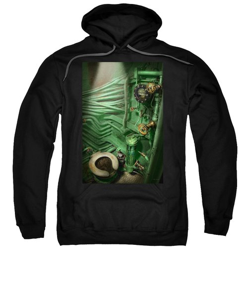 Steampunk - Naval - Plumbing - The Head Sweatshirt