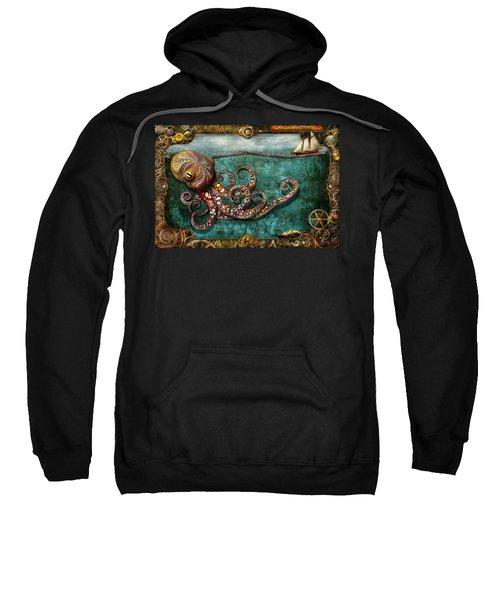 Steampunk - The Tale Of The Kraken Sweatshirt